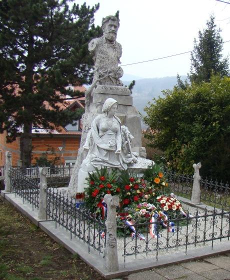Ante Starcevic grave Sestine, Zagreb, Croatia