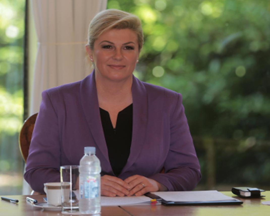 Croatia: First Year Of Kolinda Grabar-Kitarovic Presidency ...
