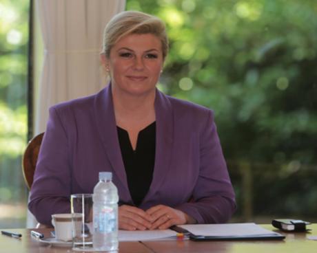 Kolinda Grabar-KItarovic President of Croatia