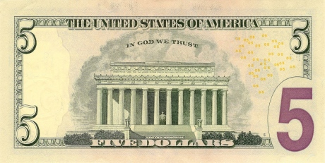 """USA Currency """"In God we trust"""""""