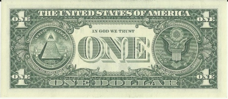 "USA Currency ""In God we trust"""