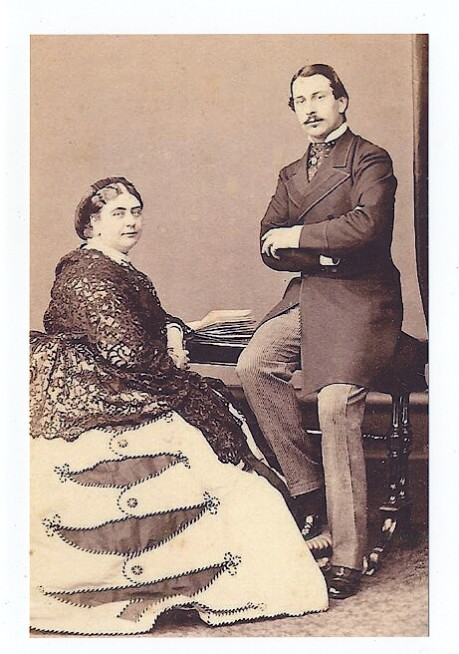 Francis Duke of Teck and Mary Adelaide