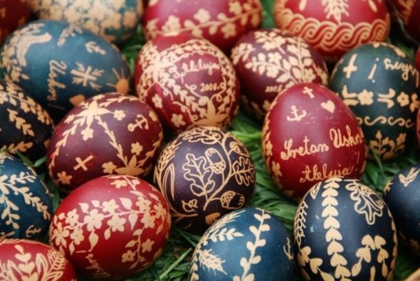 Image result for croatian easter eggs