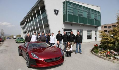 Rimac Automobili Headquarters in Croatia