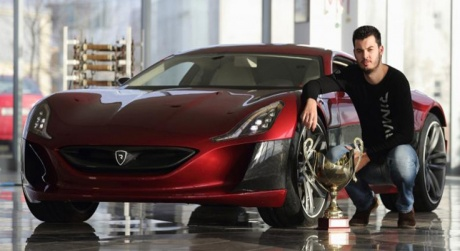 Mate Rimac CEO of Rimac Automobili in Croatia and inventor of Concept One and Concept S supercars