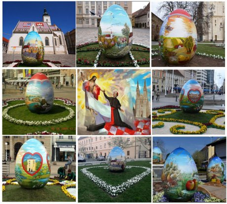 Croatian Giant Easter Eggs Have made a home throughout Europe