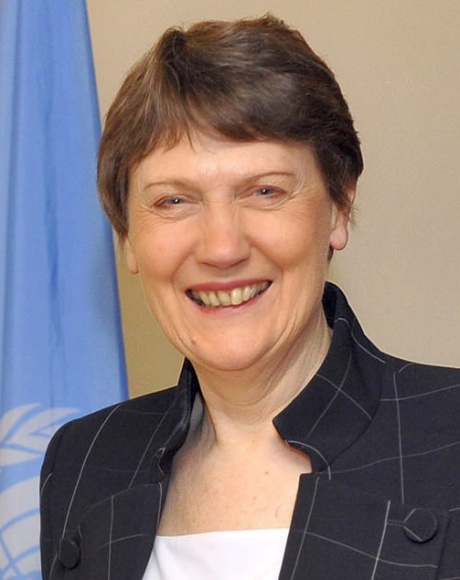 Helen Clark, former Prime Minister of New Zealand, current Administrator of the UN Development Program