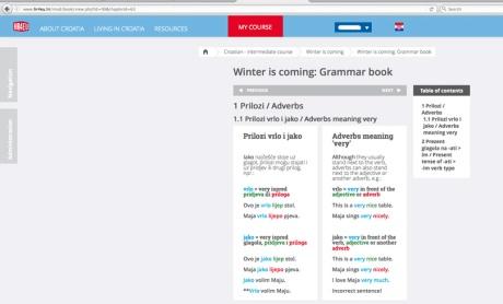 Happy learning Croatian HR4EU portal Photo:Screenshot