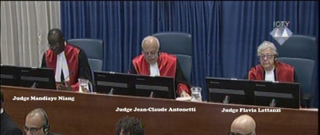 ICTY Trial Chamber 31 March 2016 Delivering Judgment in Vojislav Seselj Case PHOTO: Screenhot ICTY.org