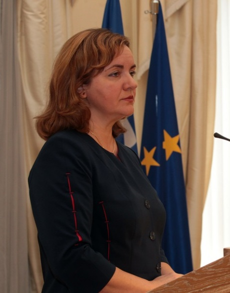 Natalia Gherman, former Minister of Foreign Affairs and European Integration of Moldova, former Acting Prime Minister of Moldova