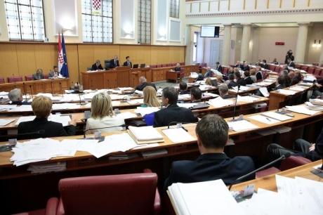 Croatian Parliament April 2016 Photo: Patrik Macek/ Pixsell