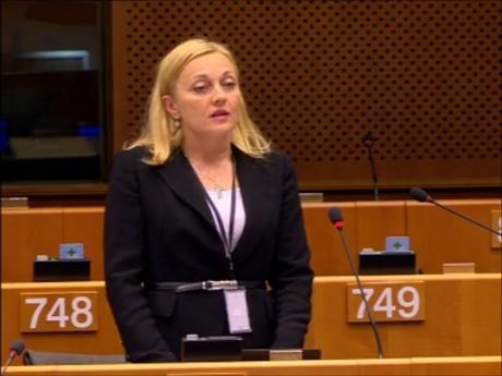 Croatian Member of EU Parliament Marijana Petir