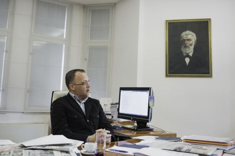 Croatia's Minister of Culture Zlatko Hasanbegovic Photo: lemonde.fr