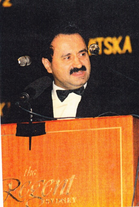 Dr Andrew Theophanous 16 January 1992 in Sydney The Day Australia Recognised Croatia as Independent and sovereign state
