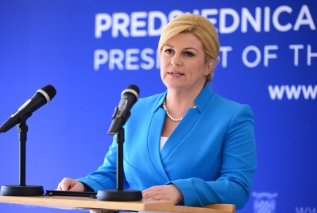Kolinda Grabar-Kitarovic President of Croatia Photo: Marko Prpic/Pixsell