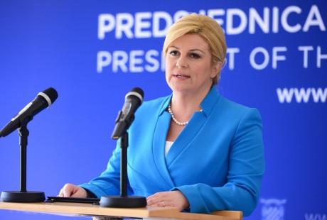 Kolinda Grabar-Kitarovic President of Croatia Photo: Marko Prpic/Pixsell