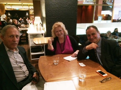 From left: Mr Marko Franovic (a distinguished Sydney based businessman), Ina Vukic and Dr Andrew Theophanous Sydney, June 2016