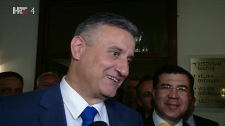 Tomislav Karamarko Leader of HDZ/ First Deputy Prime Minister of Croatia