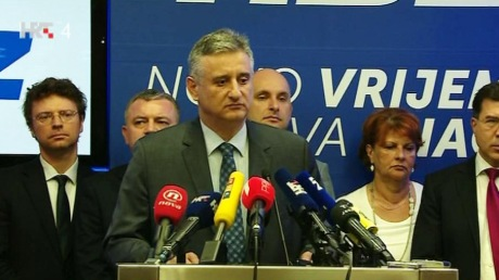 Tomislav Karamarko Leader HDZ/Croatian Democratic Union First Deputy Prime Minister