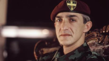 Serbia's Red Berets operative in Croatia Dragan Vasiljkovic