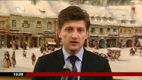 Zdravko Maric Croatia's Finance Minister Photo: hrt.hr