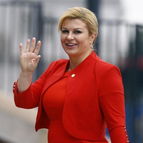 Croatia's President Kolinda Grabar-KItarovic Photo: Reuters/ Kacper Pempel