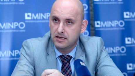 Minister Tomislav Tolusic Photo:Patrik Macek/Pixsell