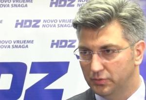 Andrej P{lenkovic, HDZ