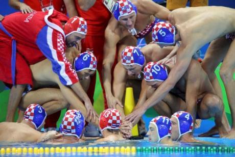 Croatia Men's Water Polo  Photo: REUTERS/Laszlo Balogh