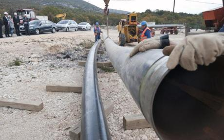 Dugopolje Split Croatia gas pipeline