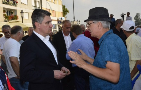 Left: Zoran Milanovic, Social Democrats Photo: Ivica Galovic/Pixsell
