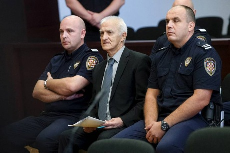 Dragan Vasiljkovic war crimes trial Split, Croatia 20 September 2016 Photo: Hamze Media