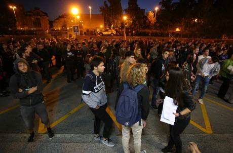 Student protest Zagreb Croatia September 2016 Photo: Jurica Galoic/Pixsell