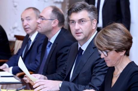 Prime Minister Andrej Plenkovic Photo: Patrik Macek/Pixsell