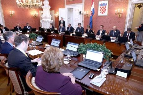 Croatian Government Meeting 27 October 2016 Photo: Patrik Macek/Pixsell