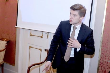 Croatian Finance Minister Zdravko Maric Photo: Patrik Macek/Pixsell