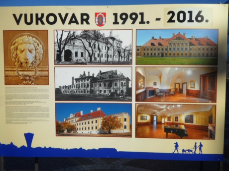Remember Vukovar Renovated Eltz Palace Photo: Connor Vlakancic
