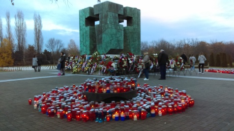 Vukovar Memorial Cemetery 19 November 2016 Photo: Connor Vlakancic