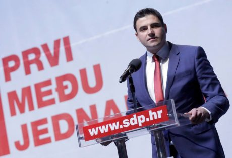 Davor Bernardic President of SDP, Leader of Opposition Croatia Photo: fah