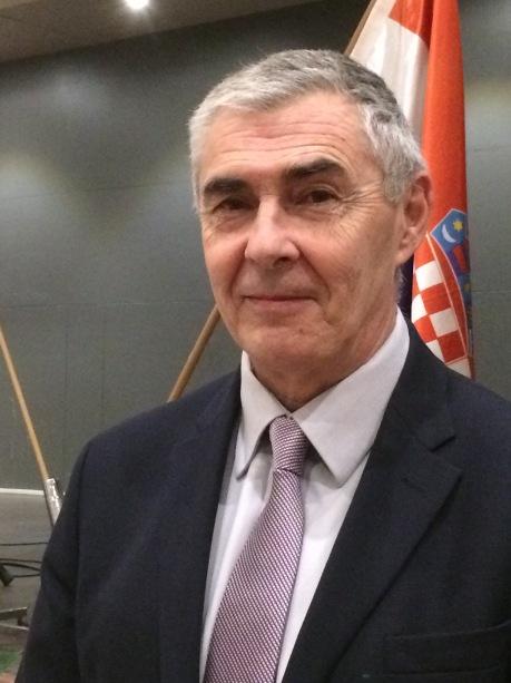 General Zeljko Glasnovic Member of Croatian Parliament for the diaspora visiting Australia, December 2016 Photo: Ina Vukic
