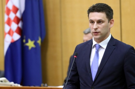 Bozo Petrov Speaker of Croatian Parliament Photo: Damir Sencaar/HINA/POOL/Pixsell