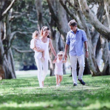 Eugene and Michelle Brcic Jones with children Photo: courtesy of Eugene Brcic Jones