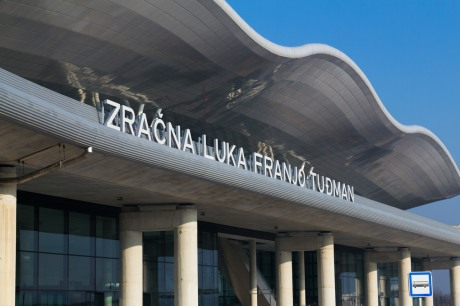 Zagreb International Airport Terminal Franjo Tudjman Photo: Josip Skof/MZLZ