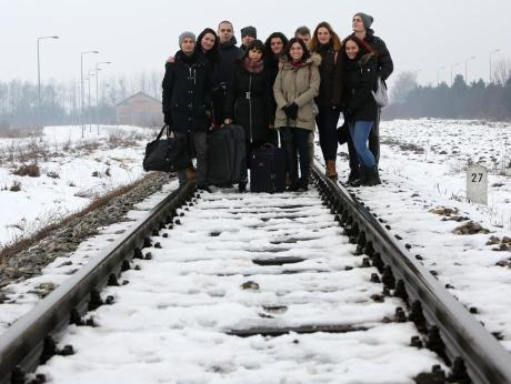 Where Did My City Disappear To Osijek Croatia Exhibition Students, exhbition organisers Photo: Marko Mrkonjic/Pixsell