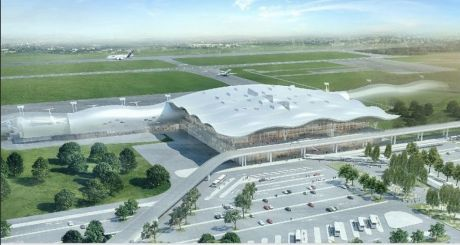 New Airport Franjo Tudjman in Zagreb Croatia Photo: Screenshot