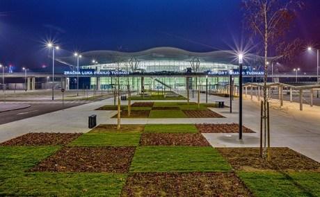 Airport Franjo TUdjman Zagreb Croatia